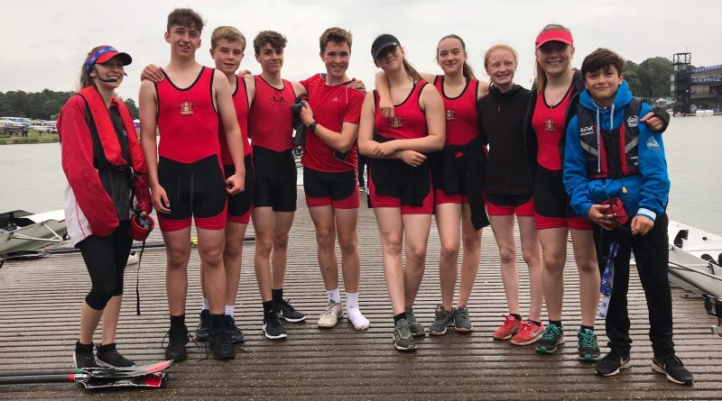 British Rowing Junior Championships July 2019 at the National Water Sports Centre
