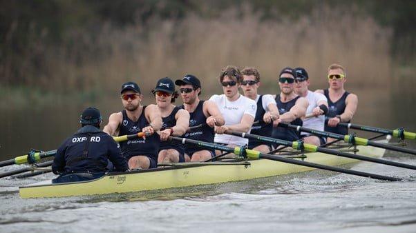 James Forward Oxford V Cambridge 2021 Boat Race